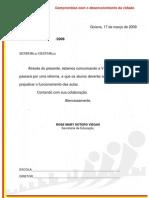 OFÍCIO CIRCULAR - REFORMA ESCOLAR