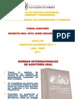 Tema 2 - Normas Internacionales de Auditoria