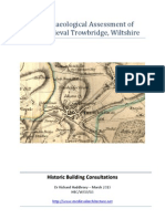 An Archaeological Assessment of Late Medieval Trowbridge - Wiltshire, U.K.