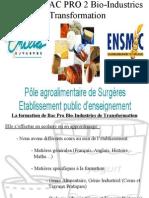 ENILIA-ENSMIC BAC pro BIT surgère