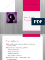 Powerpoint clase Psicología Cognitiva