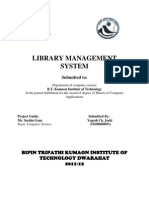 library mgt system