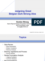 Designing Great Belgian Dark Strong Ales