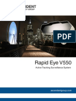 Active Tracking Surveillance System With IR, Wide-Angle and Telescopic Lenses, Full HD (equivalent to 470 Mega Pixels) - Ascendent Technology Group - Rapid Eye V550