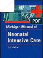 Michigan Manual of Neonatal Intejnsive Care 3rd Ed NB