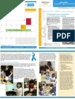 OHU Bridgeport Child Development Center newsletter - April