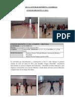 Memoria Actividad Floorball en CUME