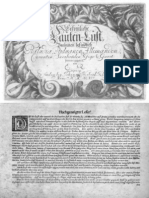 D-Reusner Erfreuliche Lauten=Lust (1697 reprint)