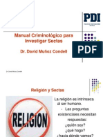 Sectas.David Muñoz Condell_pastor