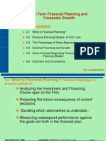 Long Term Financial Planing and Corp Gr - 4