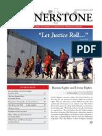 "Cornerstone, Spring 2013 ""Let Justice Roll"""