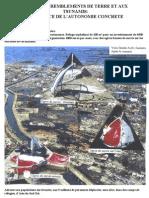 tsunamis, tremblements de terre, autoconstruction, reconstruction