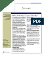 SFG Newsletter April 2009