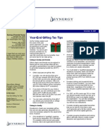 SFG Newsletter December 2007
