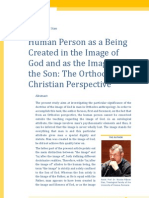 N. R. Stan, Human Person as a Being