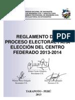 Reglamento de Elecciones Cf