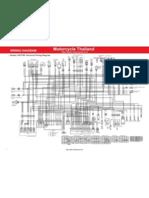 honda crf250l wiring diagram en | vehicles | machines honda crf250l wiring diagram switch wiring diagram scribd