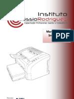 manutenção de impressora laser - ICR 2009