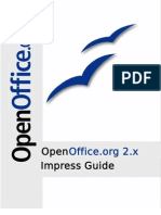 Open Office Impress Guide