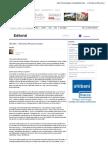 Philippe Forget Editorial | Lexpress.mu