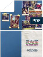 The Wadham Alternative Prospectus