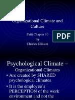 6314 Organizational Climate