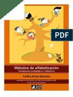 Yadira Arias Sánchez. Métodos de alfabetización