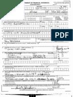 Financial Disclosure Reports
