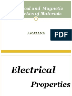 Electrical and  Magnetic Properties of Materials research
