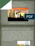 Presentación petroleo