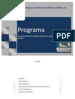 Programa Mantenimiento 2013