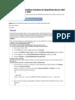 Custom Workflow Activities