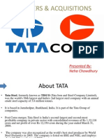 TATA STEEL's Acquisition of CORUS