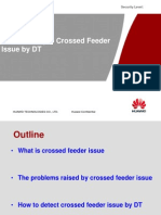 How to Analyze Crossed Feeder Issue by DT