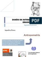 DISEÑO DE INSTALACIONES ERGONOMICAS