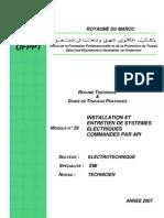 Installation Entretien Systeme Electrique Commande API-GE-EMI