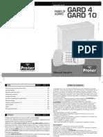 Manual - Teclado Gard 10