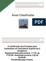Areas Classificadas PPT