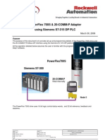 S7_300 Power Flex 700 Profibus