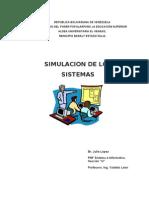 Lenguaje de Simulacion Trabajo Xi Yaidelis