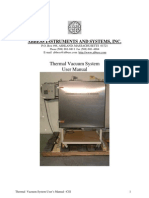Thermal Vacuum System Manual