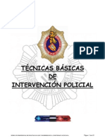 Tec n Basic Inter Ve Nci on Policial