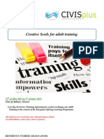 Creative Seeds for Adult Training