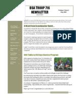 BSA Newsletter May 2013