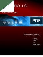 Desarrolloweb, Programacion IV