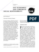 THE DOMINANT ECONOMICS