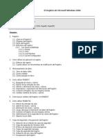 El Registro en Windows 2000