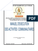 Manuel Exécution Activités Communautaires