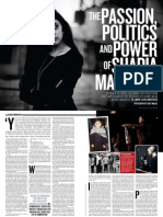 The passion, politics and power of Shadia Mansour