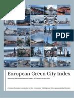 Bucharest Green City Index